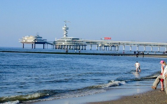the pier in scheveningen