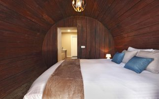 Spend a night in a wine barrel