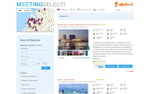 Find your meeting venue in Holland