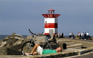 Bicycle itinerary The Hague - Scheveningen