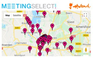 Find your hotel & venue in Utrecht