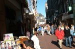 Mode shopping i Amsterdam