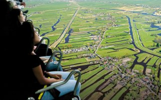 Experience Holland from a bird's-eye view