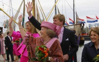 The royal family on King's day