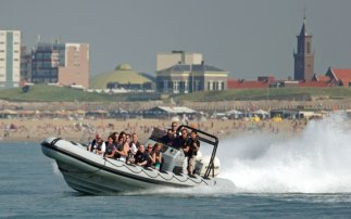 Powerboating in Scheveningen