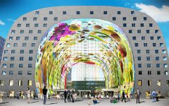 A first in Holland: Rotterdam's market hall