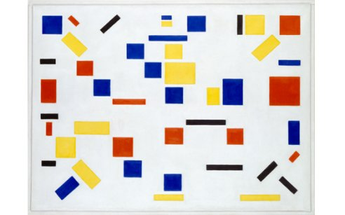 Piet Mondrian and Bart van der Leck at Gemeentemuseum