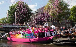 Parada do Orgulho Gay de Amsterdam