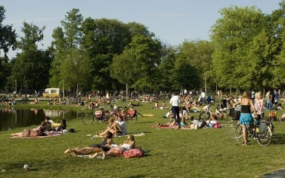 The most famous park of amsterdam