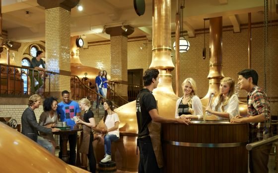 The heineken brew room