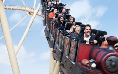Le parc d'attractions Slagharen