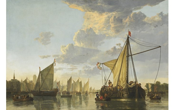 © A. Cuyp, Gezicht op Dordrecht, ca. 1650, National Gallery of Art, Washington