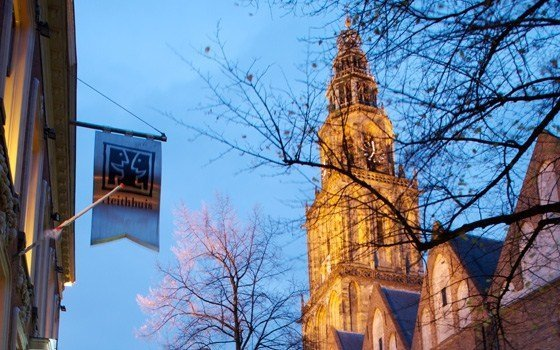 The martini church and tower in Groningen