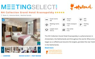 Book your event at NH Collection Amsterdam Grand Hotel Krasnapolsky