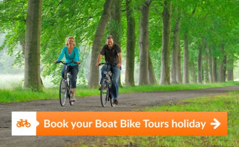 Discover Holland at its most beautiful with the unique cycling/sailing holidays of Boat Bike Tours.