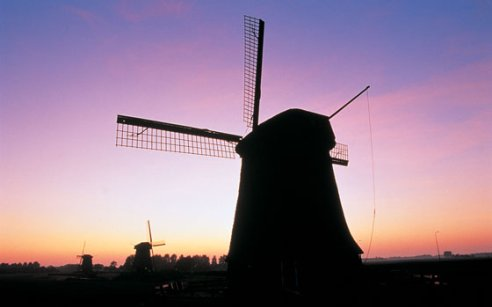 Functies van windmolens in Holland