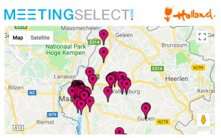 Find your hotel & venue in Maastricht