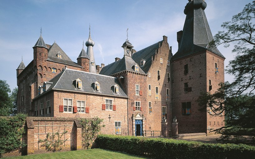Front view of Doorwerth Castle