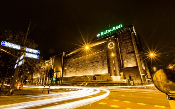 The building of the heineken experience
