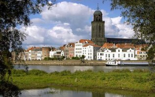 Past the Hanseatic towns