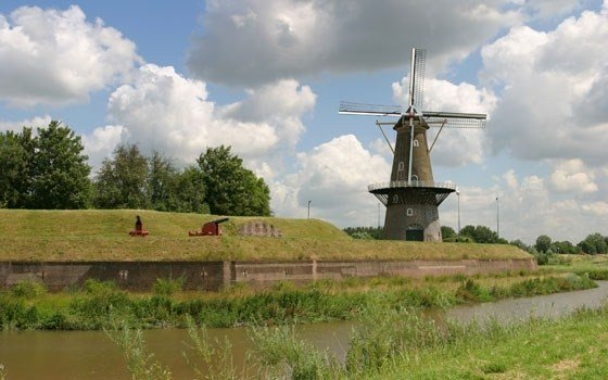 Windmill near Gorinchem