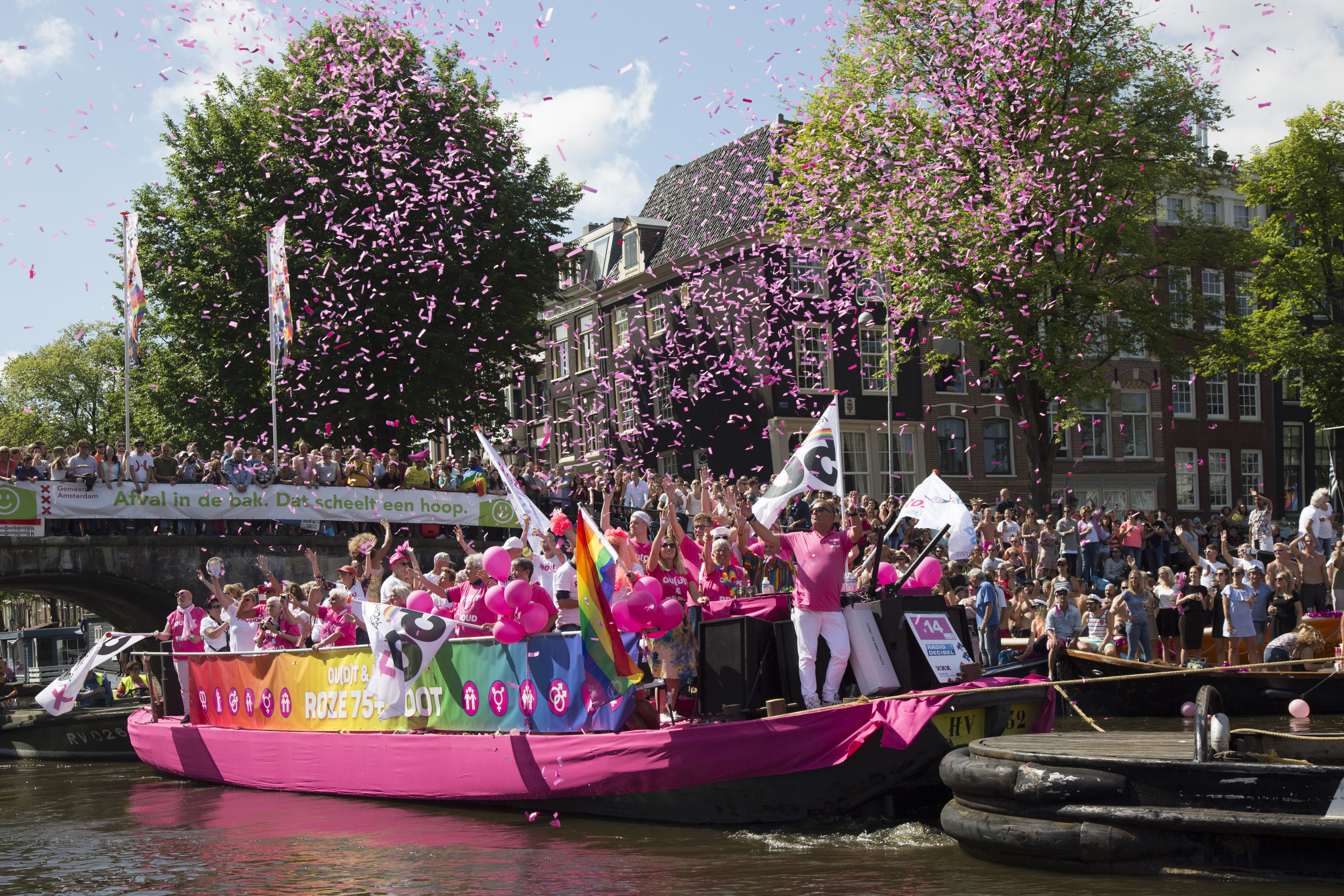 When is gay pride in amsterdam