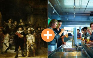 Visit two Dutch icons in a single day