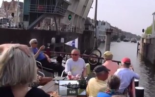 Watch this video: Bike and Barge Tour in Holland - Cycletours