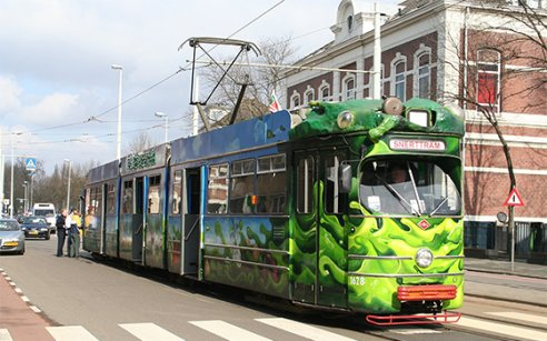 Go for a ride on the snerttram