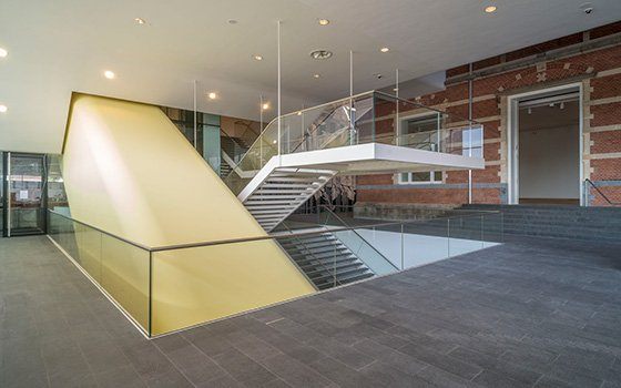 Stedelijk Museum new entrance hall; photo: John Lewis Marshall