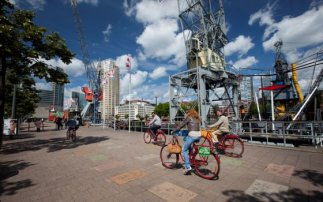 Harbour Cycle Tour in Rotterdam