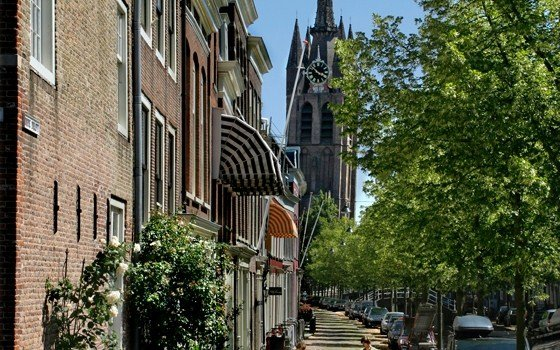 Old Delft and the old church