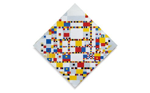 Admire the biggest Mondrian collection in The Hague