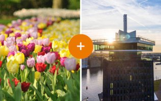 Buy your combined ticket for Keukenhof and A'DAM Lookout