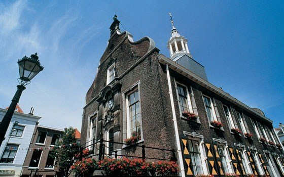Old city hall in Schiedam