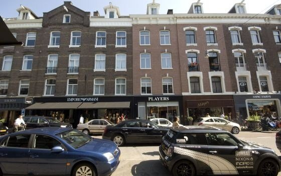 The P.C. (Pieter Cornelius) Hooftstraat in Amsterdam One of the more luxurius shopping streets