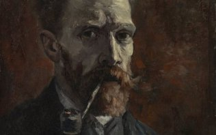 Around the vicarage; a gallery full of Van Goghs