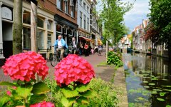 Routes in Delft