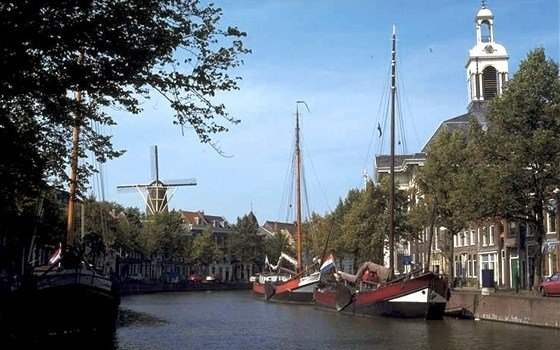 A view of the centre of Schiedam