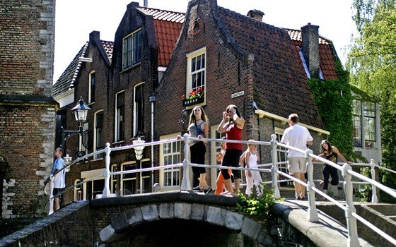 A bridge in Delft